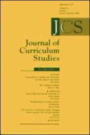 Journal of Curriculum Studies template (Taylor and Francis)