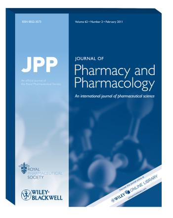 Journal of Pharmacy and Pharmacology template (Wiley)