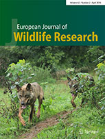 European Journal of Wildlife Research template (Springer)