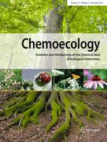 Chemoecology template (Springer)