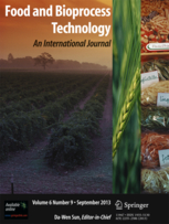 Food and Bioprocess Technology template (Springer)