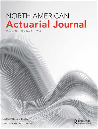 North American Actuarial Journal template (Taylor and Francis)