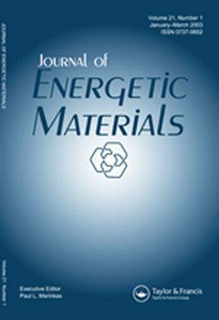 Journal of Energetic Materials template (Taylor and Francis)