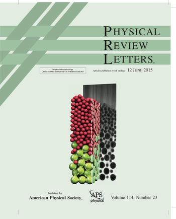 Physical Review Letters template (American Physical Society)