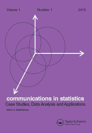 Communications in Statistics: Case Studies, Data Analysis and Applications template ( Data Analysis and Applications)