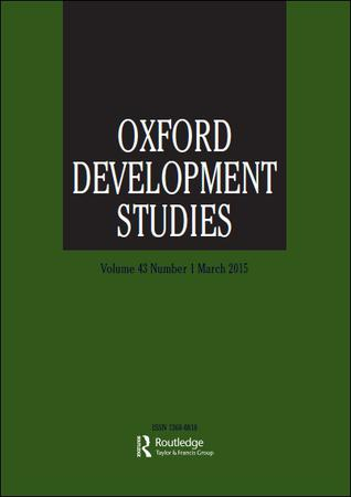 Oxford Development Studies template (Taylor and Francis)