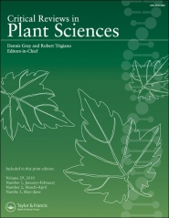 Critical Reviews in Plant Sciences template (Taylor and Francis)