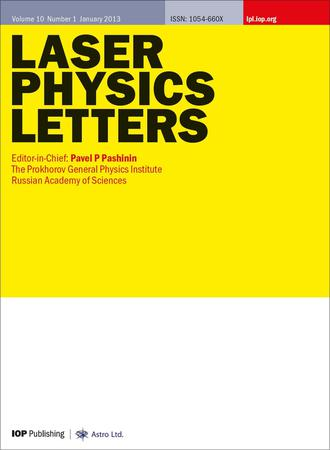 Laser Physics Letters template (IOP Publishing)