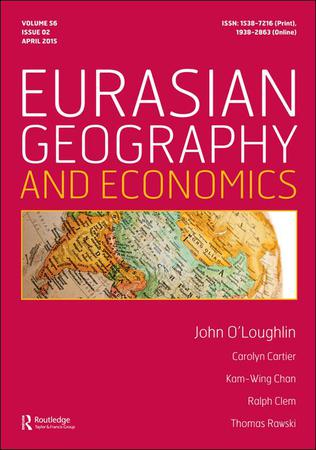 Eurasian Geography and Economics template (Taylor and Francis)
