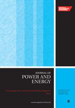 Proceedings of the Institution of Mechanical Engineers, Part A: Journal of Power and Energy template ( Part A: Journal of Power and Energy)