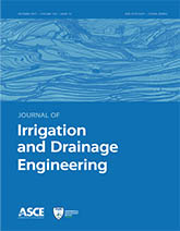 Journal of Irrigation and Drainage Engineering template (American Society of Civil Engineers)