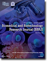 Biomedical and Biotechnology Research Journal (BBRJ)  template (Medknow)