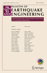 Bulletin of Earthquake Engineering template (Springer)