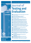 Journal of Testing and Evaluation (JOTE) template (ASTM International)