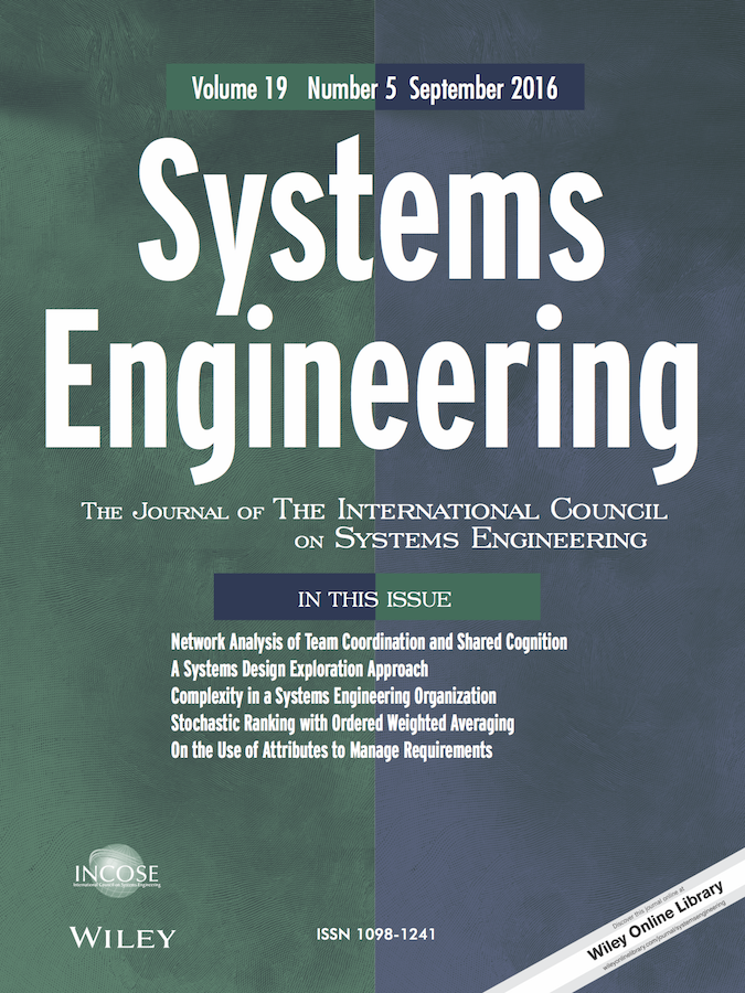 Systems Engineering template (Wiley)