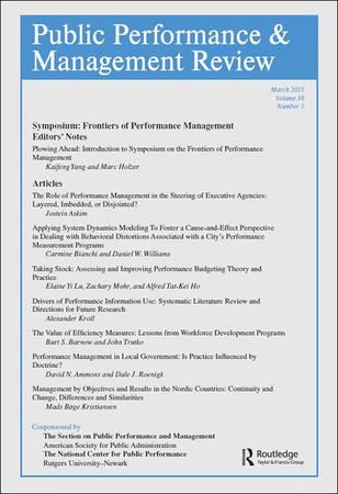 Public Performance and Management Review template (Taylor and Francis)