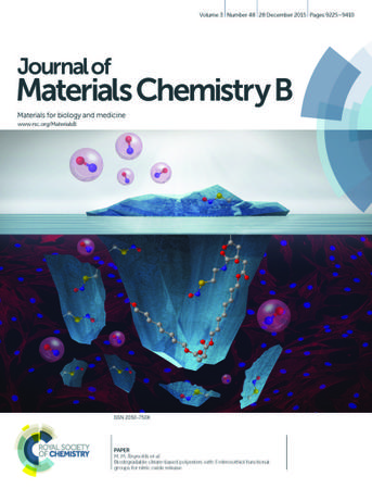 Journal of Materials Chemistry B template (Royal Society of Chemistry)