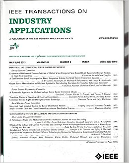 IEEE Transactions on Industry Applications template (IEEE)