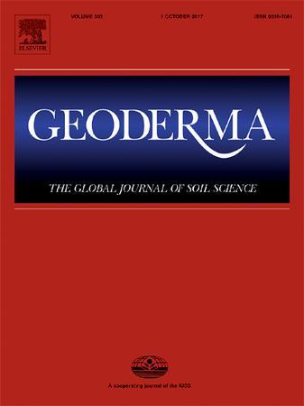 Geoderma template (Elsevier)