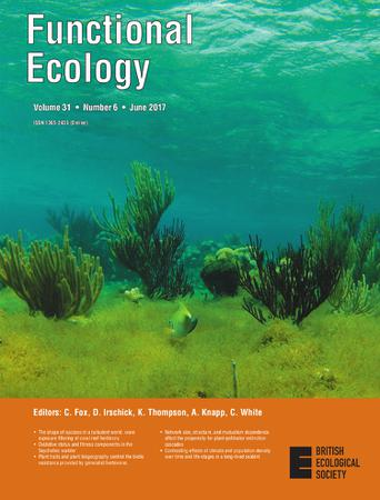 Functional Ecology template (Wiley)