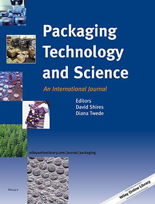 Packaging Technology and Science template (Wiley)