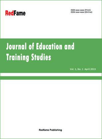 Journal of Education and Training Studies template (RedFame)