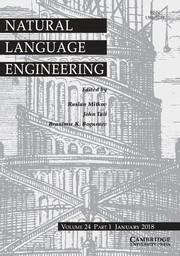 Natural Language Engineering template (Cambridge University Press)