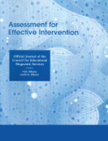 Assessment for Effective Intervention template (SAGE)
