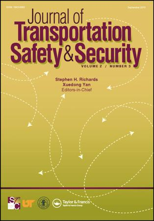 Journal of Transportation Safety and Security template (Taylor and Francis)