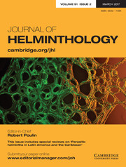 Journal of Helminthology template (Cambridge University Press)
