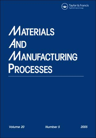 Materials and Manufacturing Processes template (Taylor and Francis)