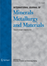 International Journal of Minerals, Metallurgy, and Materials template ( Metallurgy)