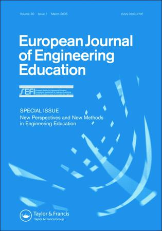 European Journal of Engineering Education template (Taylor and Francis)