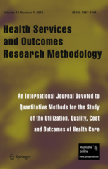 Health Services and Outcomes Research Methodology template (Springer)