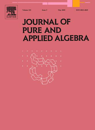 Journal of Pure and Applied Algebra template (Elsevier)