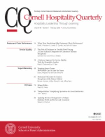 Cornell Hospitality Quarterly template (SAGE)