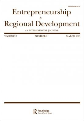Entrepreneurship and Regional Development template (Taylor and Francis)