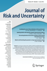 Journal of Risk and Uncertainty template (Springer)