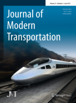 Journal of Modern Transportation template (Springer)