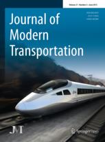 Journal of Modern Transportation template (Springer)