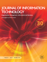 Journal of Information Technology template (Springer)
