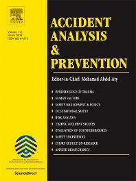 Accident Analysis & Prevention template (Elsevier)