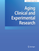 Aging Clinical and Experimental Research template (Springer)