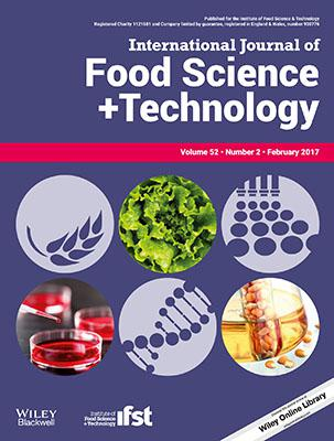 International Journal of Food Science & Technology template (Wiley)