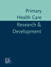 Primary Health Care Research & Development template (Cambridge University Press)