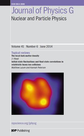 Journal of Physics G: Nuclear and Particle Physics template (IOP Publishing)