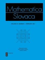 Mathematica Slovaca template (De Gruyter)
