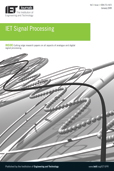 IET Signal Processing template (IET Publications)