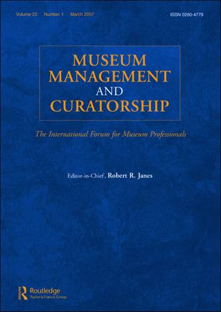 Museum Management and Curatorship template (Taylor and Francis)