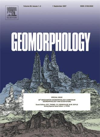 Geomorphology template (Elsevier)